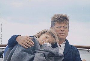 Caroline and JFK