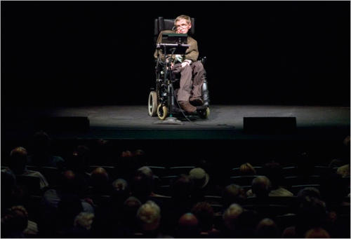 CARED FOR The physicist Stephen Hawking is a defender of Britain's National Health.